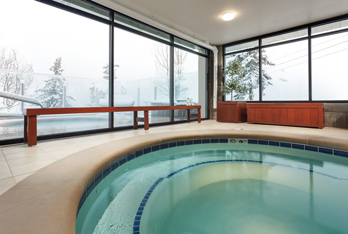 Indoor and Outdoor Jacuzzis