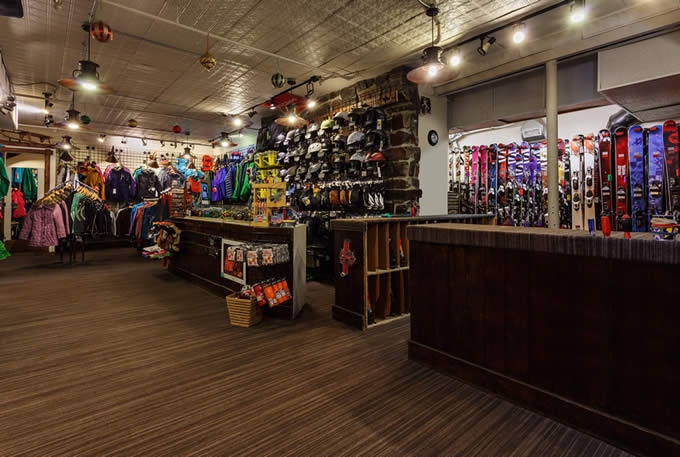 Rustler Powder House Full-Service Ski Shop | Alta's Rustler Lodge
