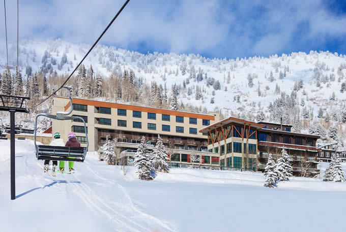 Ski-in / Ski-out access to all Alta Ski Lift Base Facilities | Alta's Rustler Lodge