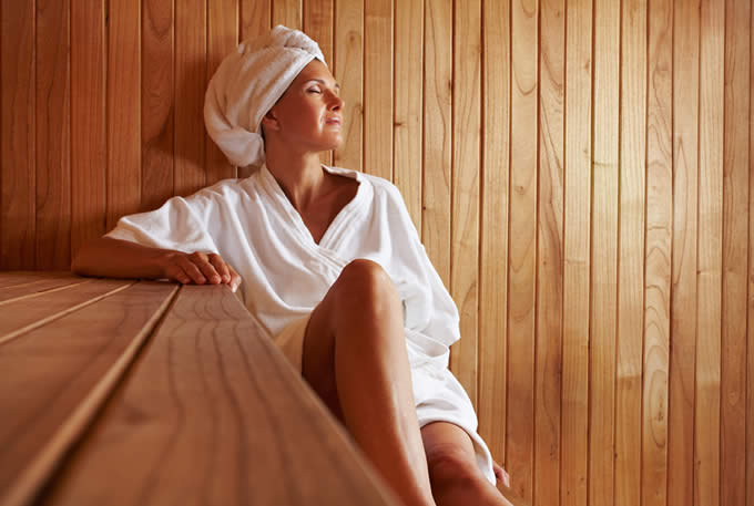 Eucalyptus Steam Room and Sauna | Alta's Rustler Lodge