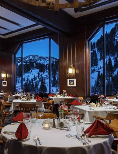 Dinner & Fine Dining at Alta's Rustler Lodge